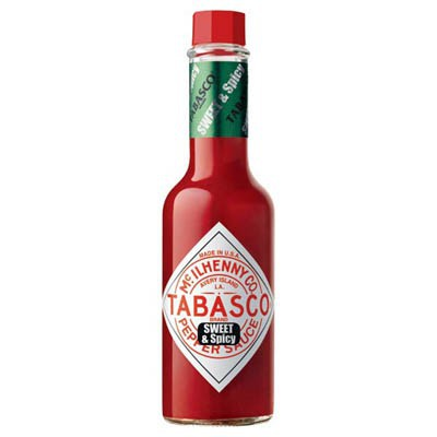 TABASCO SWEET AND SPICY PEPPER SAUCE