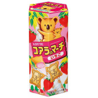 KOALA NO MACHI STRAWBERRY SNACK