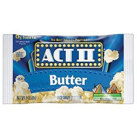 ACT II MICROWAVE POPCORN - BUTTER