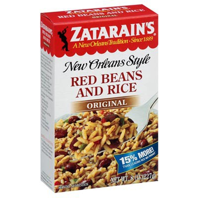 ZATARAIN'S RED BEANS AND RICE