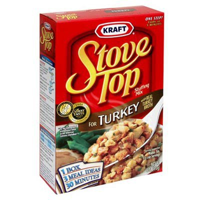 KRAFT STOVE TOP STUFFING FOR TURKEY