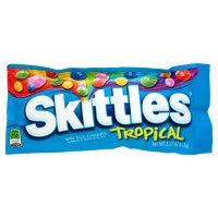 SKITTLES TROPICAL FRUITS TROPICAUX