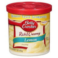 BETTY CROCKER FROSTING LEMON