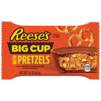 REESE'S BIG CUP WITH PRETZELS