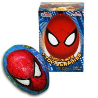 CHOCO TREASURE SPIDER-MAN CHOCOLATE EGG WITH TOY SURPRISE