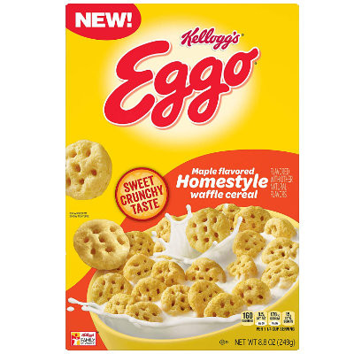 CLEARANCE - HOMESTYLE EGGO CEREAL