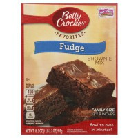 BETTY CROCKER FUDGE BROWNIE MIX BIG