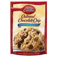 BETTY CROCKER PRÉPARATION COOKIE AVOINE CHOCO