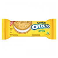 NABISCO OREO GOLDEN SANDWICH COOKIES SINGLE SERVE