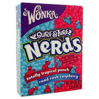 WONKA NERDS SURF & TURF TROPICAL PUNCH-RASPBERRY