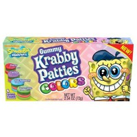 BOB L'ÉPONGE KRABBY PATTIES COLORS BONBONS