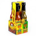 BLAIR'S SALSA PICANTE DE 4 MINI BOTELLAS