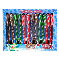 DR PEPPER 7-UP A&W CANDY CANES