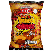 HERR'S CHIPS MIEL EPICE CHEESE CURLS