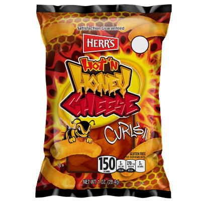 HERR'S HOT HONEY CHEESE CURLS