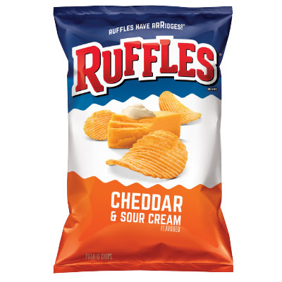 RUFFLES CHEDDAR & SOUR CREAM LARGE