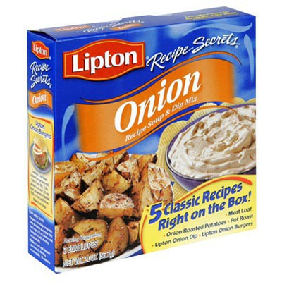 LIPTON RECIPE SECRETS ONION SOUP MIX