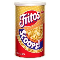 FRITOS SCOOPS PATATAS CHIPS DE MAÍZ CANISTER