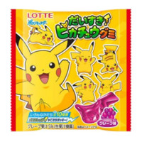 LOTTE LOVE PICACHU CARAMELLE GOMMOSE ALL'UVA