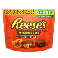 REESE'S MINI CUPS WITH REESE'S PIECES SHARE SIZE