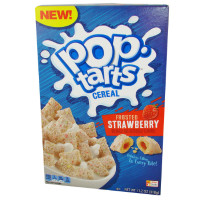 KELLOGG'S FROSTED STRAWBERRY POP TARTS CEREAL