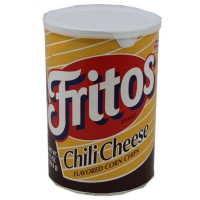 FRITOS CHILI CHEESE CORN CHIPS CANISTER