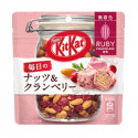 KIT KAT MINI EVERYDAY NUTS & CRANBERRY POUCH RUBY