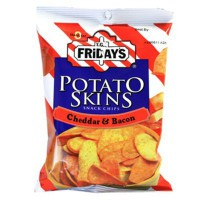 TGI FRIDAY'S POTATO SKINS CHEDDAR & BACON CHIPS