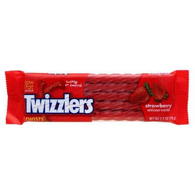 HERSHEY'S TWIZZLERS STRAWBERRY TWISTS