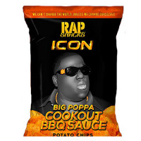 RAP SNACKS NOTORIOUS BIG CHIPS SAUCE BARBECUE COOKOUT