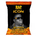 RAP SNACKS NOTORIOUS BIG PATATINE SALSA BARBECUE COOKOUT