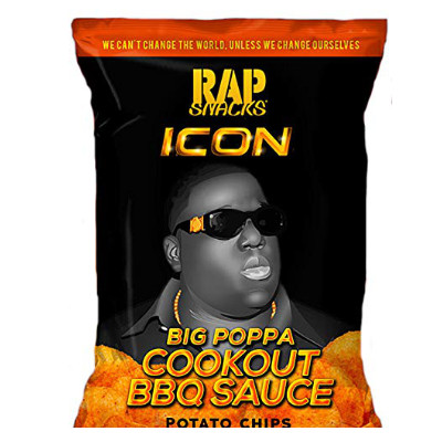 CLEARANCE - RAP SNACKS NOTORIOUS B.I.G. COOKOUT BBQ SAUCE