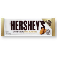 HERSHEY'S WHITE CREME WITH ALMOND BAR