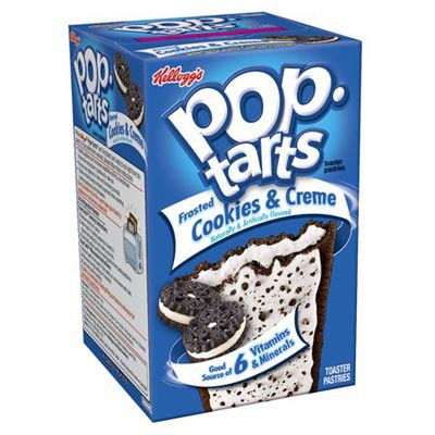 KELLOGG'S POP TARTS FROSTED COOKIES & CREAM