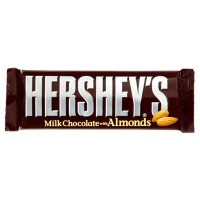HERSHEY'S MILK CHOCOLATE BAR WITH ALMONDS