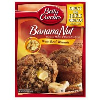 CLEARANCE - BETTY CROCKER BANANA NUT MUFFIN MIX