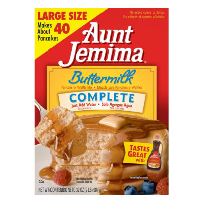 PEARL MILLING COMPANY EX AUNT JEMIMA PANCAKE MIX COMPLETE BUTTERMILK BIG