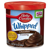 CLEARANCE - BETTY CROCKER FROSTING WHIPPED CHOCOLATE