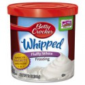 CLEARANCE - BETTY CROCKER FROSTING WHIPPED FLUFFY WHITE