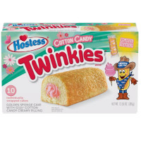 HOSTESS TWINKIES COTTON CANDY