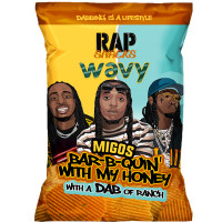 RAP SNACKS MIGOS BAR B QUIN WITH MY HONEY WITH A DAB OF RANCH
