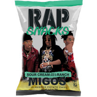 CLEARANCE - RAP SNACKS MIGOS SOUR CREAM WITH A DAB OF RANCH