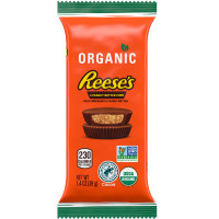 REESES ORGANIC PEANUT BUTTER CUP