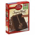 BETTY CROCKER SUPER MOIST DEVILS FOOD CAKE MIX
