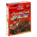 BETTY CROCKER HERSHEY CHOCOLATE CHUNK BROWNIE MIX