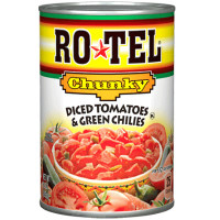 ROTEL CHUNKY CHILI TOMATE PIMIENTOS VERDES