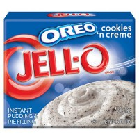 JELLO INSTANT PUDDING OREO COOKIES 'N CREAM