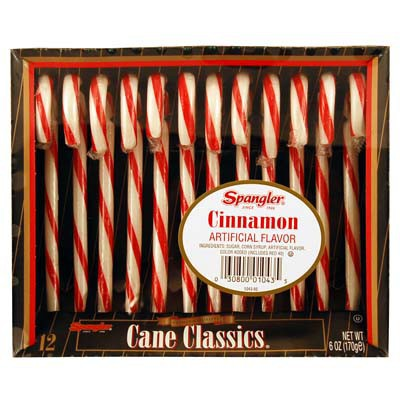 CLEARANCE - CANDY CANES CINNAMON 12-stick box