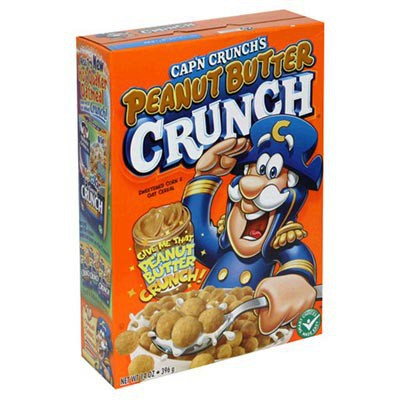 QUAKER CAP'N CRUNCH WITH PEANUT BUTTER
