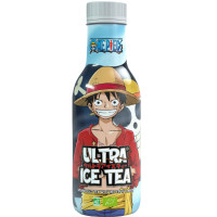 ONE PIECE LUFFY ULTRA ICE TEA WITH RED FRUIT FLAVOR